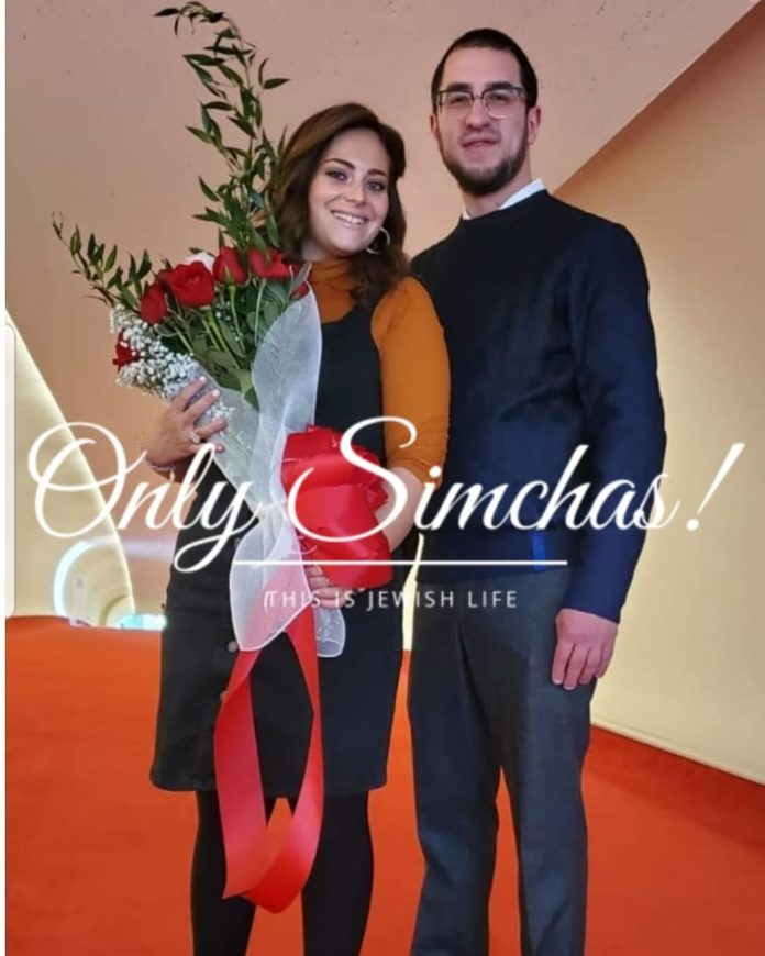 Engagement of Ovadia Rubinstein to Frumy Markowitz (#bp)!! #onlysimchas