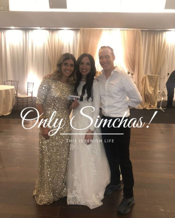 Wedding of Estée and Elie Kirshenbaum (#Toronto and #Israel )!! #onlysimchas