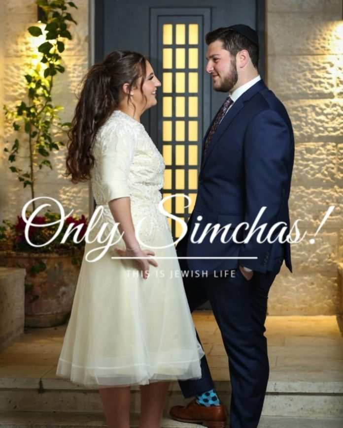 Vort of Baruch Goldsmith and Elisheva Kornblit! #Onlysimchas Photo by @shirakornblitphotography