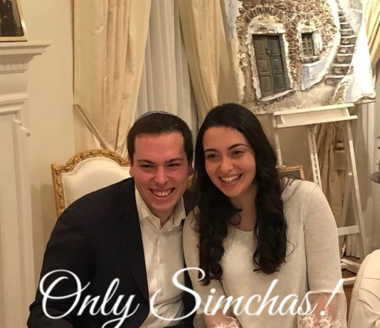 Engagement of Max Librach (#Toronto) and Sylvie Moscovitz (#NewYork)!! #onlysimchas