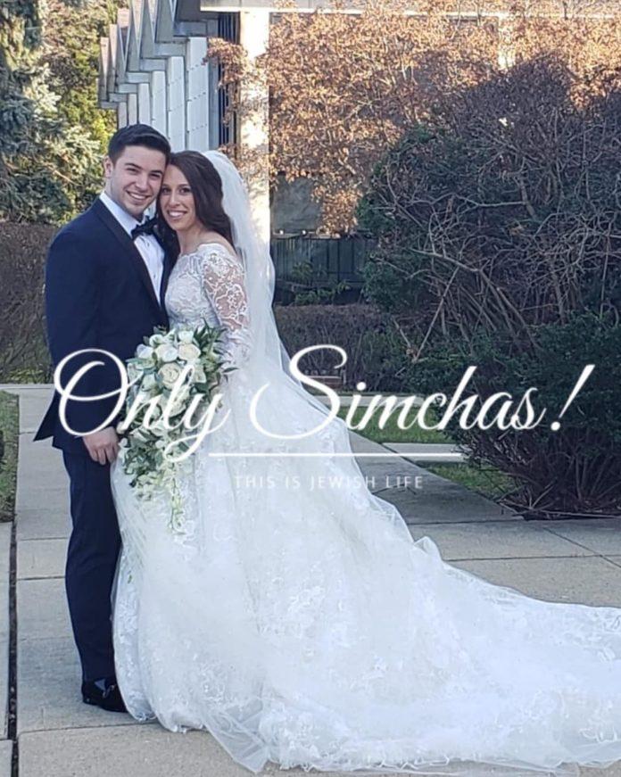 Wedding of Estee Choueka (#Lawrence) to Avidan Berman (#westHempstead)! #onlysimchas