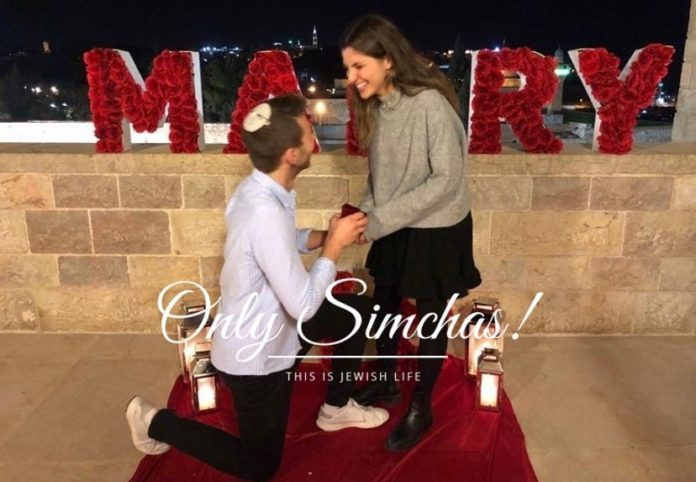 Mazal tov to Zach Herschfus (Detroit/Herzliya) and Sabine Elmaleh (Fort Lee/Herzliya)!! #Onlysimchas