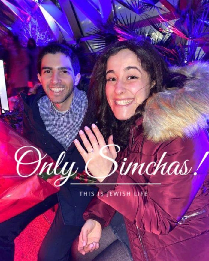 Engagement of Daniel Elias and Shiri Cohen (#London)!! #onlysimchas