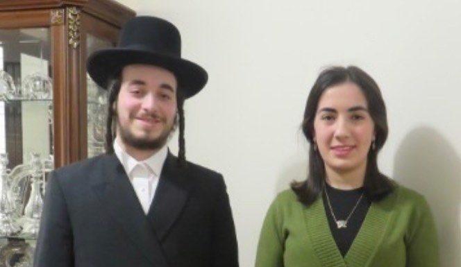 Engagement of Gitty Goldberger and Naftula Hersh Williamsburg! #onlysimchas