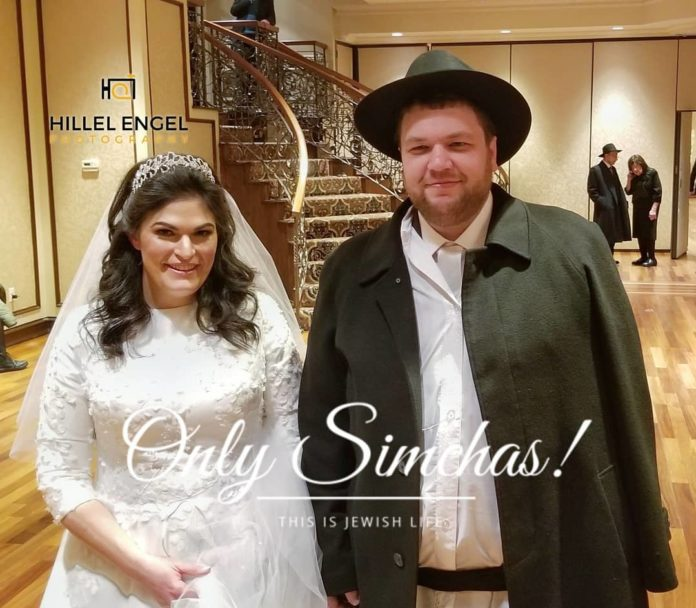 Wedding of Efraim and Zeldy Schnall (Both #BoroPark)!! #onlysimchas photo by @photosbyhe