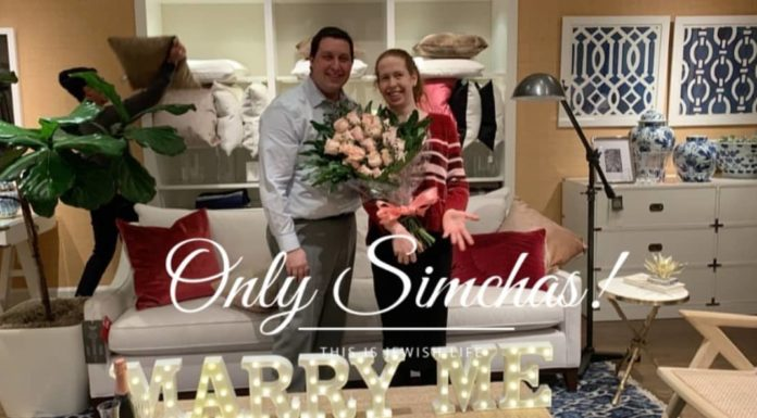 Engagement of Avigayil Adouth (#Florida) and Natan Sredni (#Florida)!! #onlysimchas