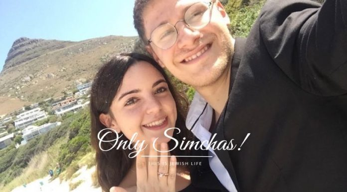 Engagement of Meir Rosendorff to Kayla Drutman (Johannesburg, South Africa) #onlysimchas