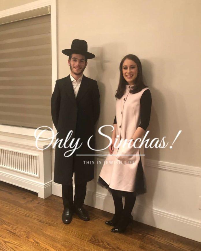 Engagement of Chaya Ruchy Rosenbluh (#monsey) to Moshe Hayum (#bp)!! #onlysimchas