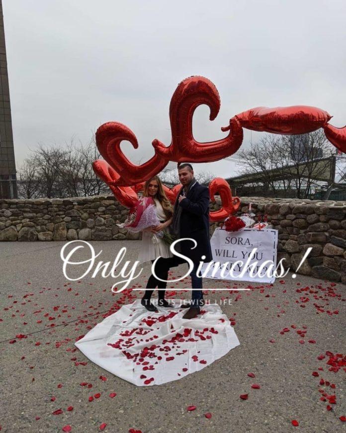 Engagement of Sruly Fink (#bk) to Sora Gruen (#Tomsriver)!! #onlysimchas