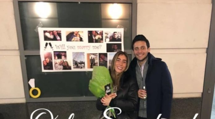 Engagement of Daniella veres (#Montreal) to Abie Ringelheim (#woodmere)!! #onlysimchas