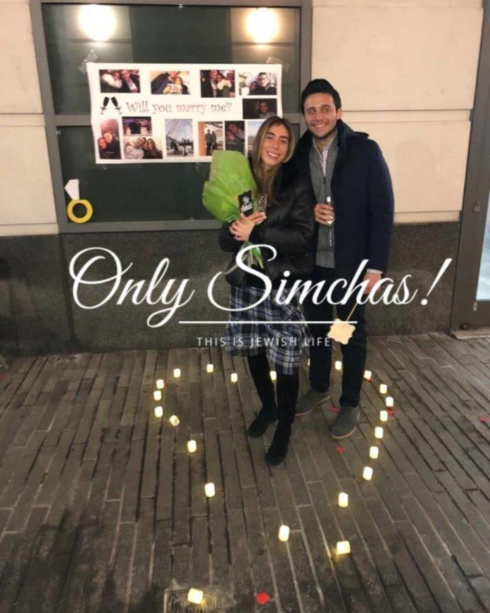 Engagement of Daniella veres (#Montreal) to Abie Ringelheim (#woodmere)!! #onlysimchas