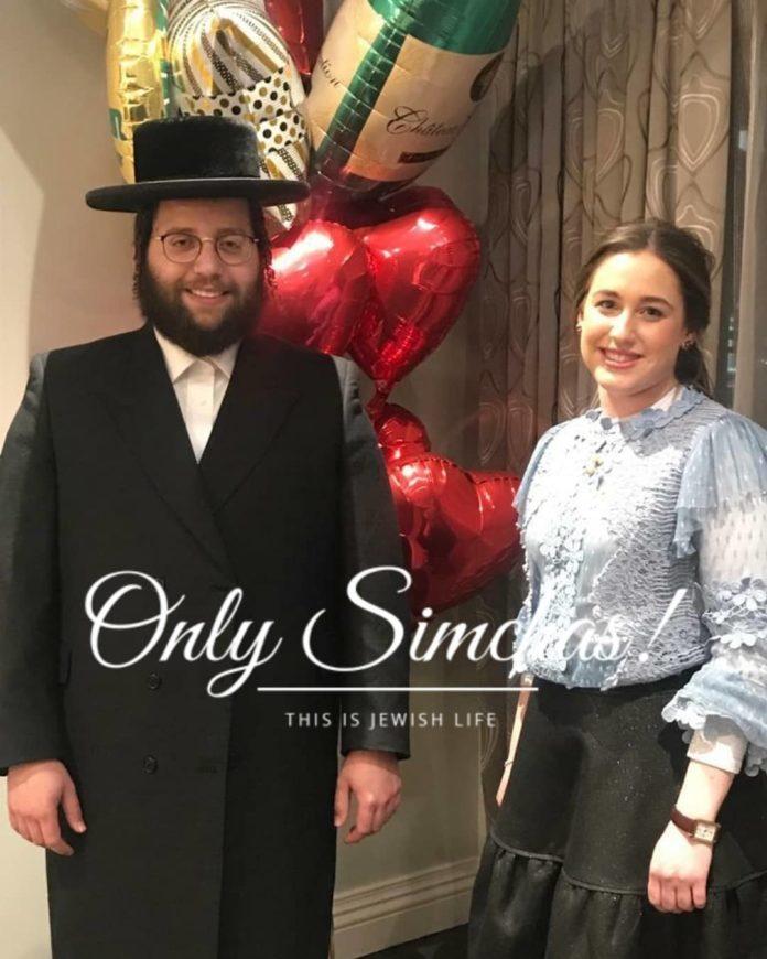 Engagement of Leah Hendy Landau (#monroe) & Kallah Brach (#Williamsburg)!! #onlysimchas