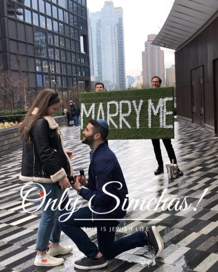 Engagement of Josh Markowitz (#Woodmere) and Estee Cohen (#MillBasin)!! #onlysimchas