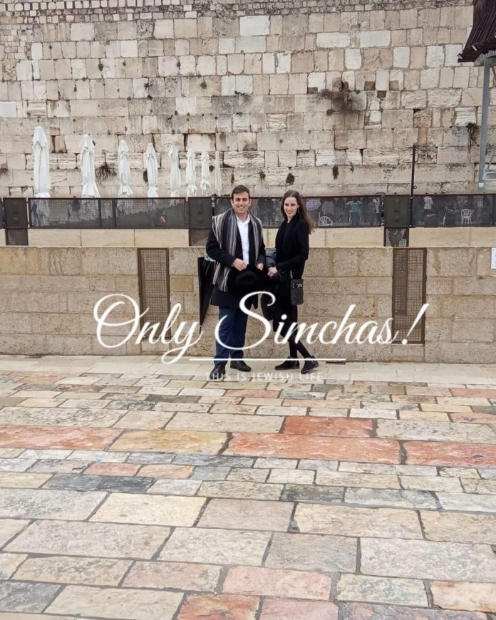 Engagement of Boruch Krauss and Ruti Greenberger!! #onlysimchas