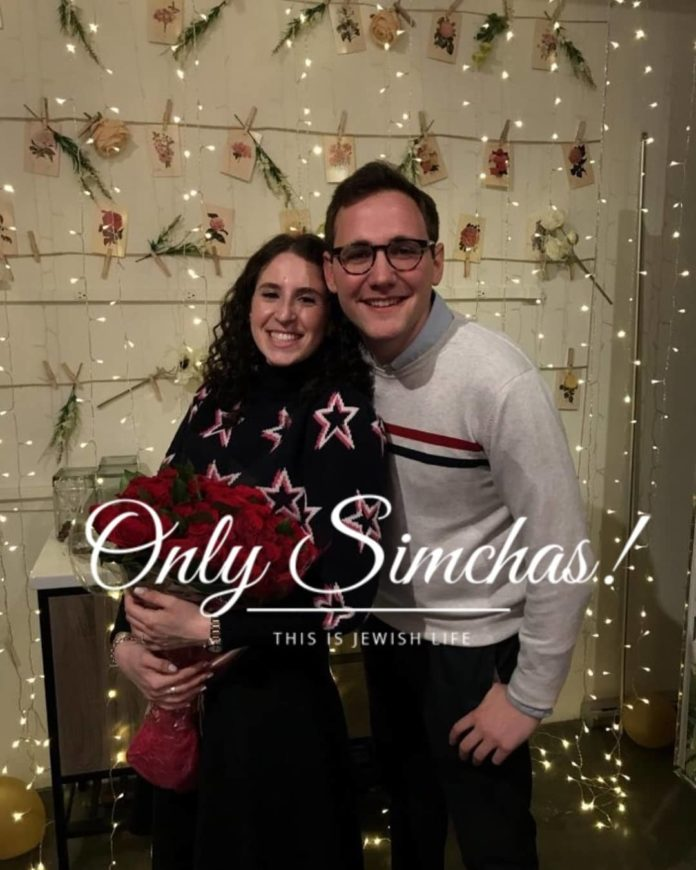Engagement of Lizzie Wallach (#Woodmere) and Yosef Segal (#LowerEastSide)!! #onlysimchas