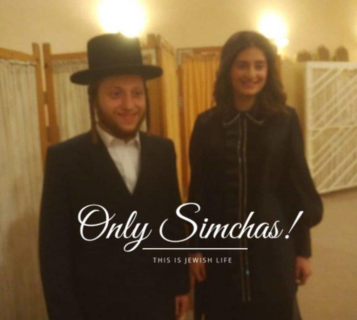 Engagement Of Yanky Vogel {#Manchester} & Kallah Lichtman {#Antwerp}!! #onlysimchas