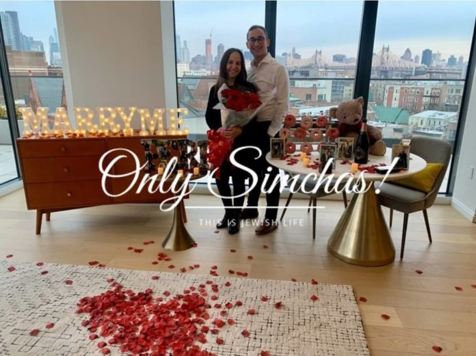 Engagement of Peri Eckstein (#Teaneck, #NJ) and Yoni Pomper (#HighlandPark, #NJ)!! #onlysimchas