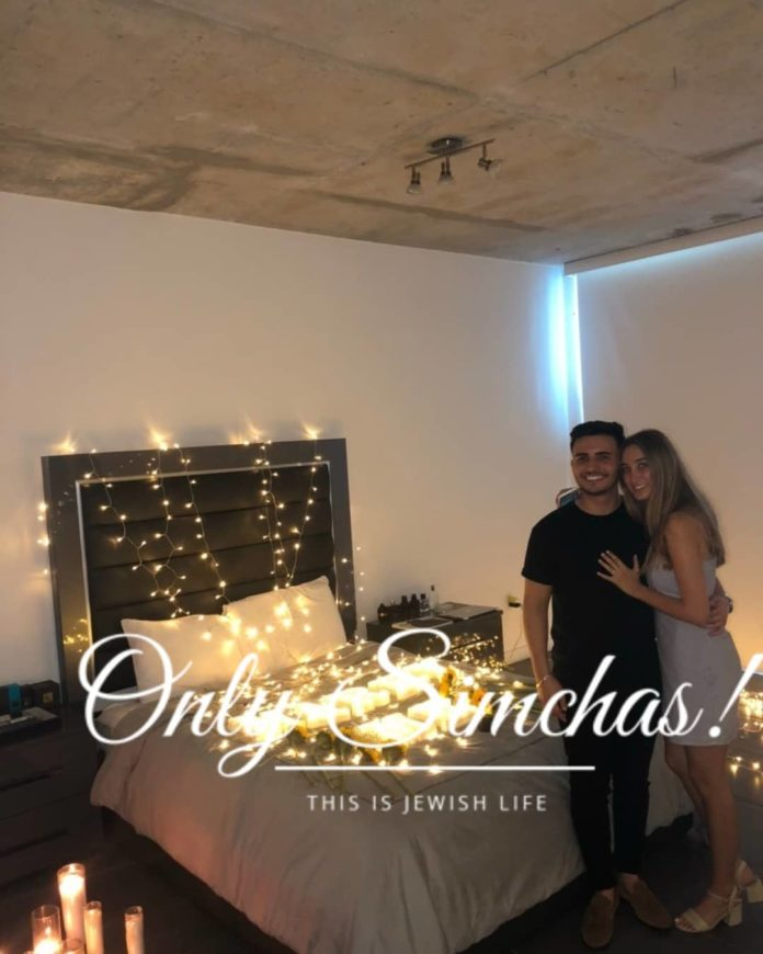 Engagement of Jordana Saunders (#London) and Oryan Shecter (#Miami)!! #onlysimchas