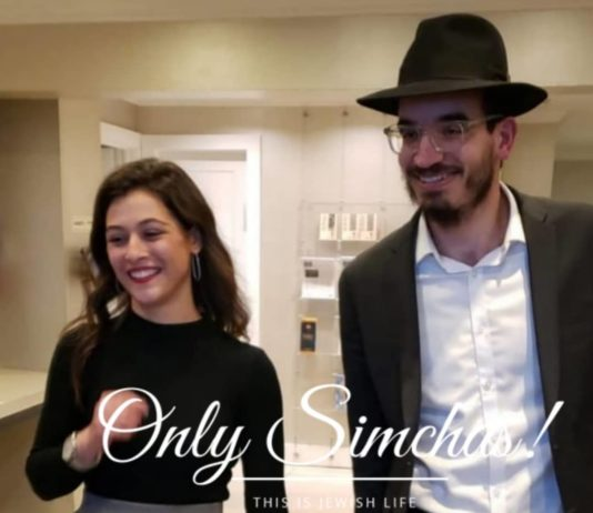 Engagement of Baruch Shalom Benshimon (#Montreal) & Rikki Ezagui (#CrownHeights)!! #onlysimchas