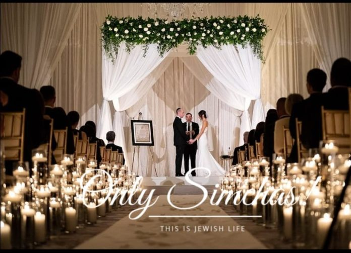 Trump's right hand man Stephen Miller and Katie Waldman had a Jewish wedding Sunday night! #onlysimchas