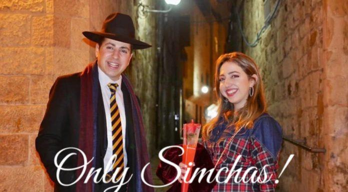 Engagement of Miri Cohen (#Jerusalem) & Yacob Israel Dahan (#Beitar)!! #onlysimchas