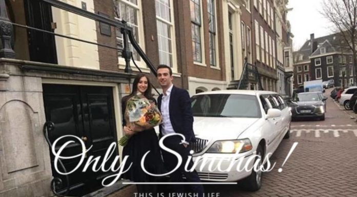Engagement of Zevi Sandler (#Gateshead) to Tamara Wolf (#Antwerp)!! #onlysimchas
