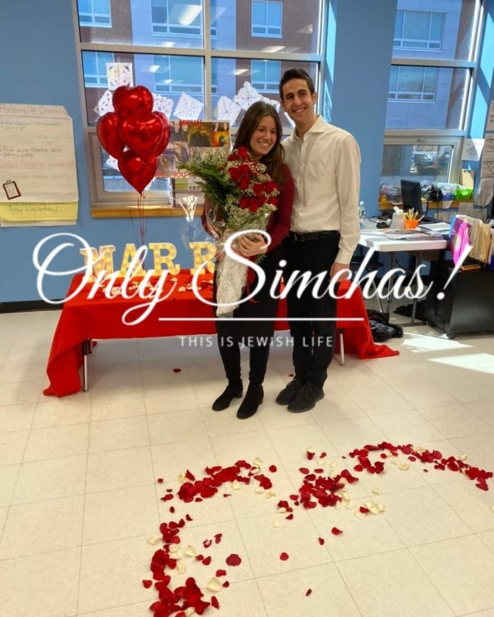 Engagement of Michal Hyman (#Teaneck, #NJ) and Moshe Brum (#StatenIsland, #NY)!! #onlysimchas