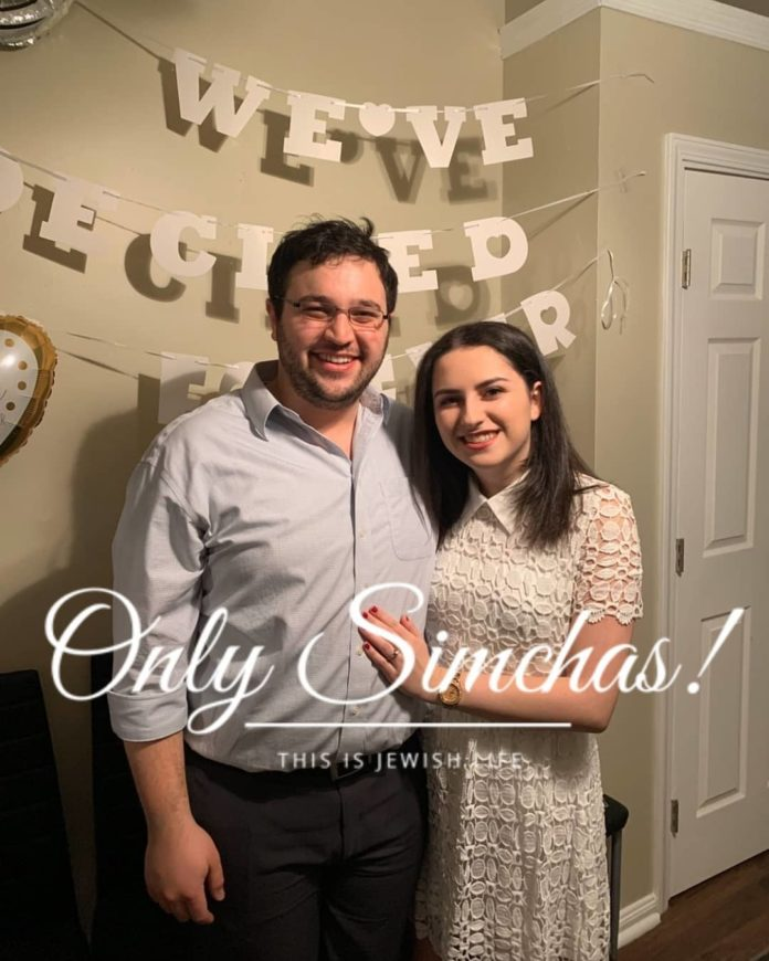 Engagement of Brianna Perris (#Woodmere, #NY) to Gilad Greenstein (#Greensboro, #NC)!! #onlysimchas