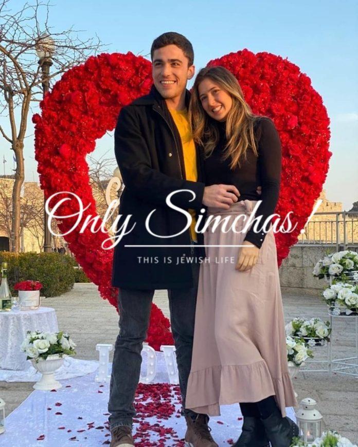 Engagement of Andre Segal (#Brazil) and Daniela Mouadeb (#Brazil)!! #onlysimchas