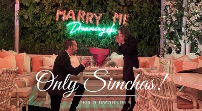 Engagement of Meir Ehrentrue (Manchester) to Bianca Baker (Manchester)! #onlysimchas