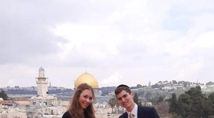 Engagement of דובי קלריסטפלד/שרה ליבא רוזנגרטן!! (#Israel)!! #onlysimchas