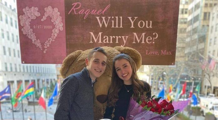 Engagement of Max Cohen (#Lawrence) Raquel Schwartz (#Teaneck)!! #onlysimchas