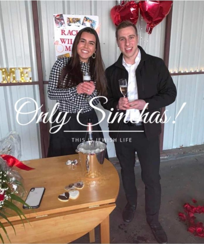 Engagement of Racheli Epstein (#Baltimore) to Chanina Hefter (#Baltimore)!! #onlysimchas