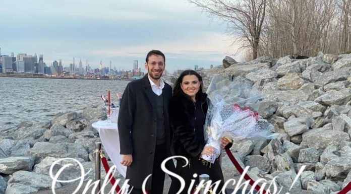 Engagement of Zalmy Lefkowitz (#bp) to Paulina Grossman (#Flatbush)!! #onlysimchas