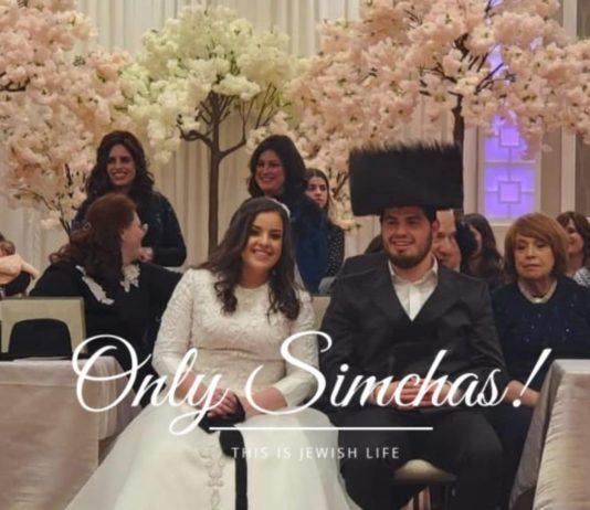 Wedding of Yaakov Leizer Vogel and Keren Yaroslavskiy!! #onlysimchas