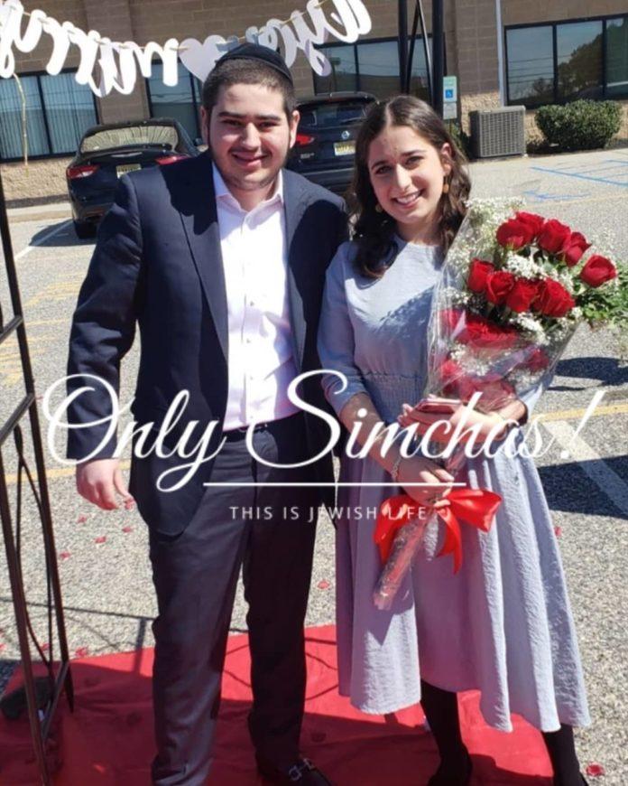 Engagement of Zevi Rubin (bp) & Mindy Weiss (#Lakewood)!! #onlysimchas
