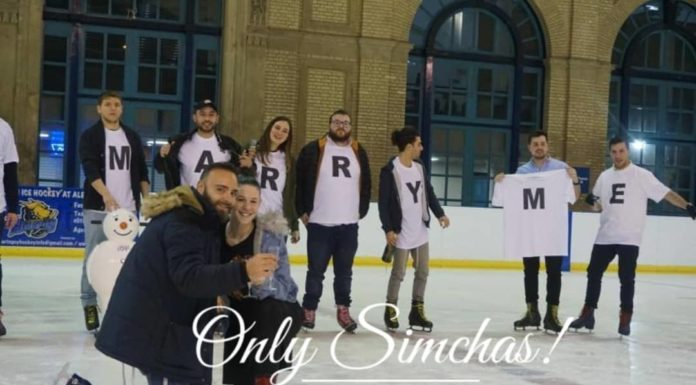 Engagement of Yossef Dahan and Michali Seliger (#London, #UK)!! #onlysimchas