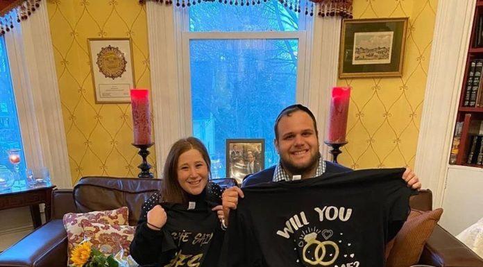 Engagement of Nechama Simon (#SantaMonica, #CA) and Jojo Aronoff (#Englewood, #NJ)!! #onlysimchas