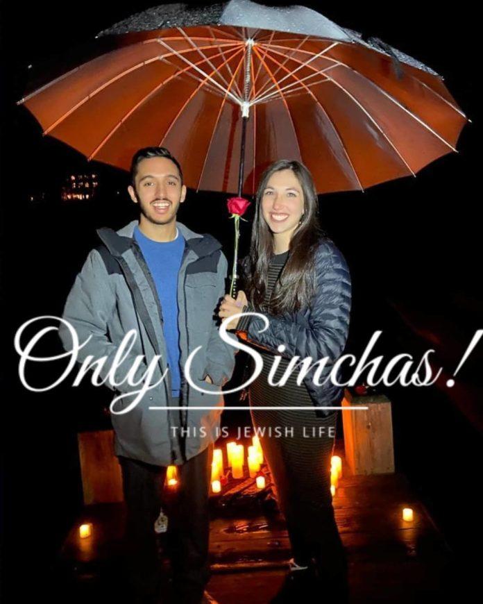 Engagement of Shoshanna Weissmann and Eli Ankri (#Baltimore)!! #onlysimchas