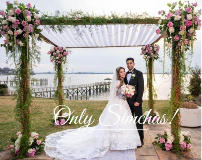Wedding of Rachel Khalou and Benjamin Nagatti!! #onlysimchas