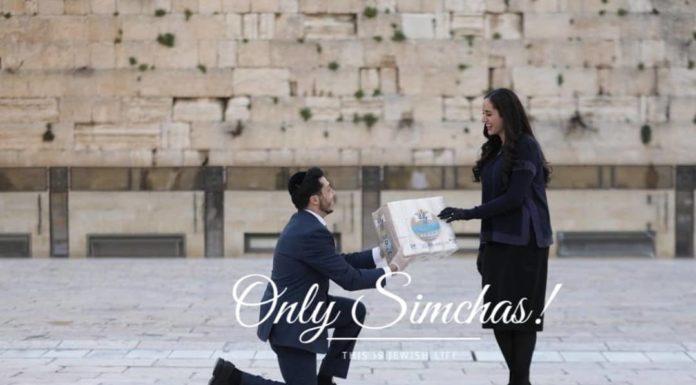 Engagement of Natanel Israilov (#Detroit) to Esther Hyam (#LosAngeles)!! #onlysimchas