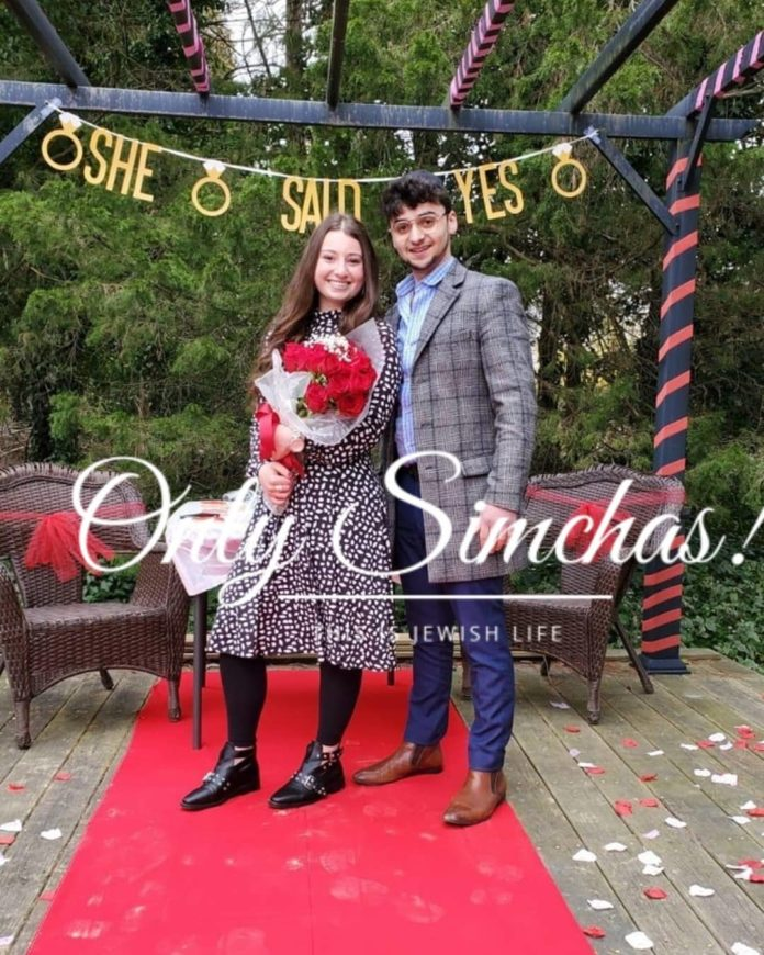 Engagement of Rikki Neiman (#monsey) to Akiva labkovsky (#Lakewood)!! #onlysimchas
