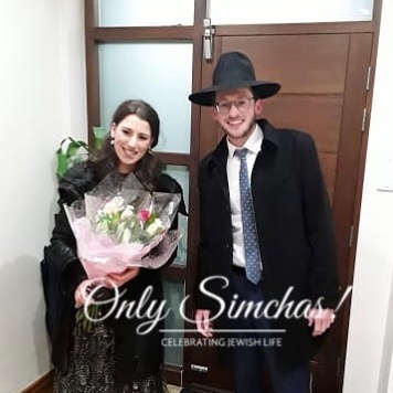 Engagement of Yaffa Schwalbe (Manchester) and Chaim Leib Cutler (Golders Green) 💍 #onlysimchas