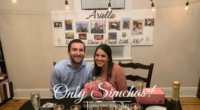 Engagement of Ariella Atkin from Teaneck NJ and Rami Pinchot from Skokie Chicago! #onlysimchas