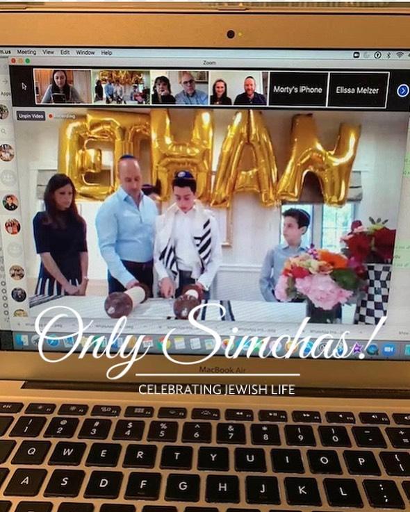 Zoom Bar Mitzvah of Ethan Mauskof! #onlysimchas