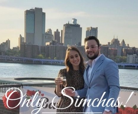 Engagement of David Kaikov (Queens) and Batsheva Maximov (Queens) #onlysimchas