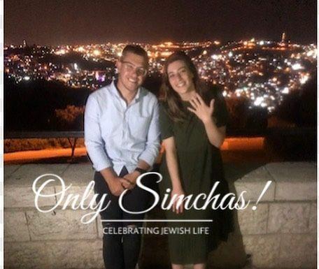 Engagement of Amichai Steinman (Melbourne, Australia) to Nicole Pantanowitz (Joburg, South Africa) #onlysimchas