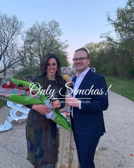 Engagement of Lani Weinstock (Monsey, NY) to Moshe Wasserman (Bergenfield, NJ) #onlysimchas