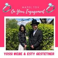 Engagement Of Yossi Weber {BP} & Esty Gestetner {Monsey} #onlysimchas