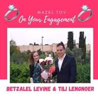 Engagement Of Betzalel Levine & Tili Lengnoer! #onlysimchas